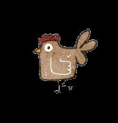 jardin du vivant poule logo